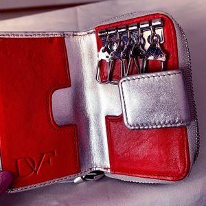 Diane Von Furstenberg Key Holder Wallet